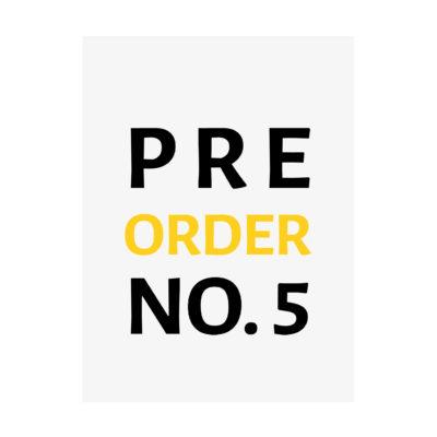 CUVÉE Magazine No. 5 Pre-Order
